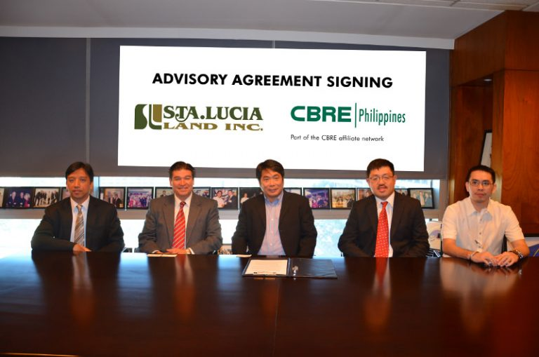 Sta. Lucia Inks Advisory Agreement with CBRE Philippines